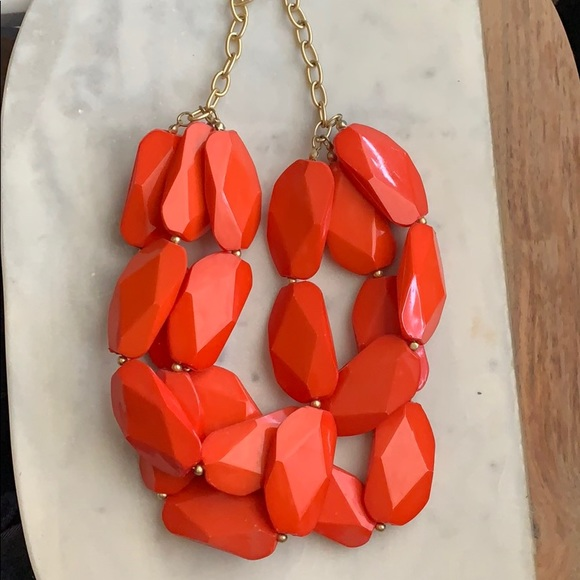 Francesca's Collections Jewelry - Red statement necklace